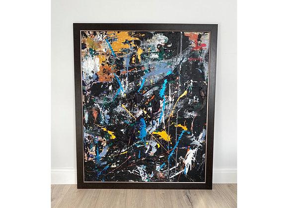 'Milky way' - 120 x 100 cm