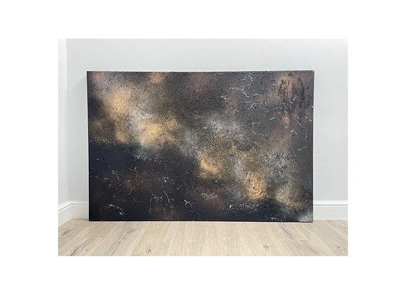 'Nuit Noire' - 150 x 100 cm