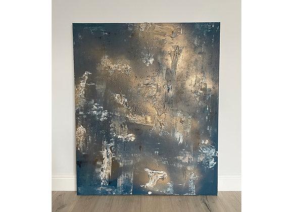 'Clair de lune' - 120 x 100 cm