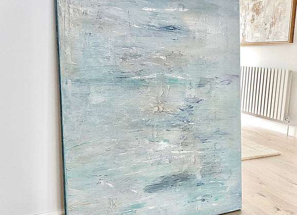 'Turquoise Jewel' - 120 x 100 cm