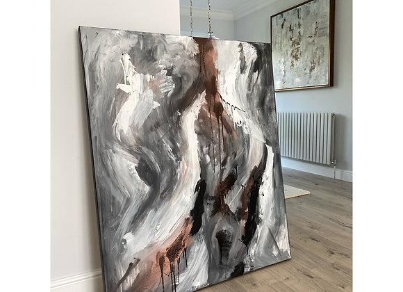 'Look Beyond' - 120 x 100 cm