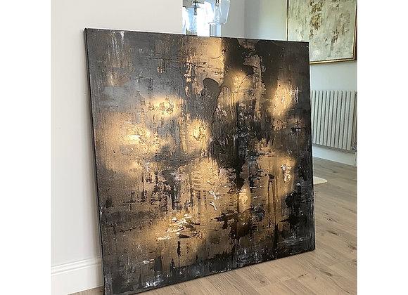 'Black Magic' - 100 x 100 cm