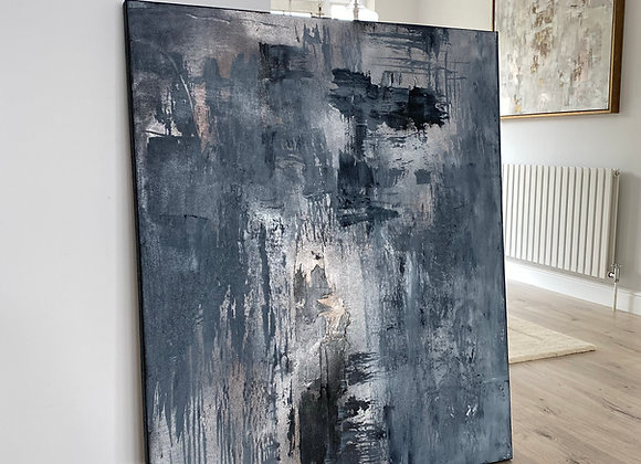 'Grey Matter'- 120 x 100 cm
