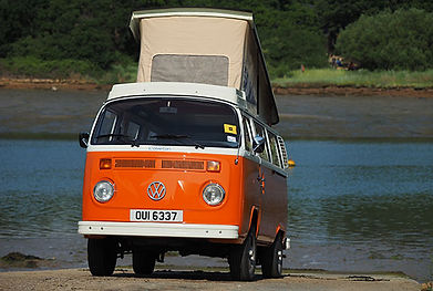 Compton a 1975 VW Type 2 aircooled Campervan