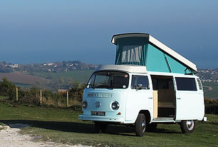 Zebby a 1973 Type 2 VW Campervan