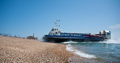 Hovertravel operate their Hovers between Southsea and Ryde