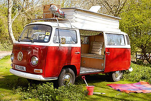 Oliver a 1972 Bay Window T2 VW Campervan