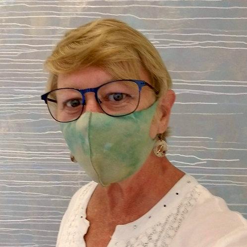 """Daydream"" Neoprene Soft Fabric Face Mask"