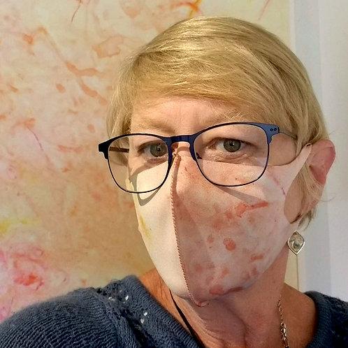 """""""Sunshine"""" Neoprene Soft Fabric Face Mask"""