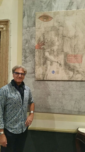 Ted Barr exhibition Palazzo Barbarigo Minotto Venice