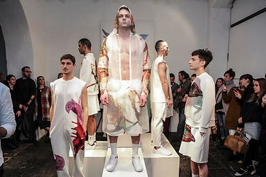 Ted Barr for Label2 Fashion Show Men's collection