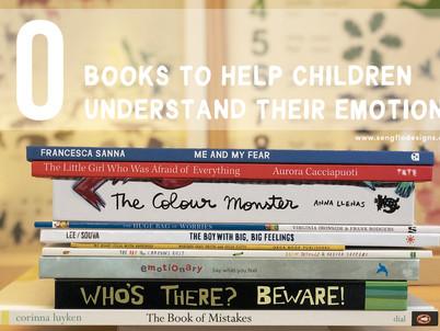 10 BOOKS TO HELP CHILDREN UNDERSTAND THEIR EMOTIONS