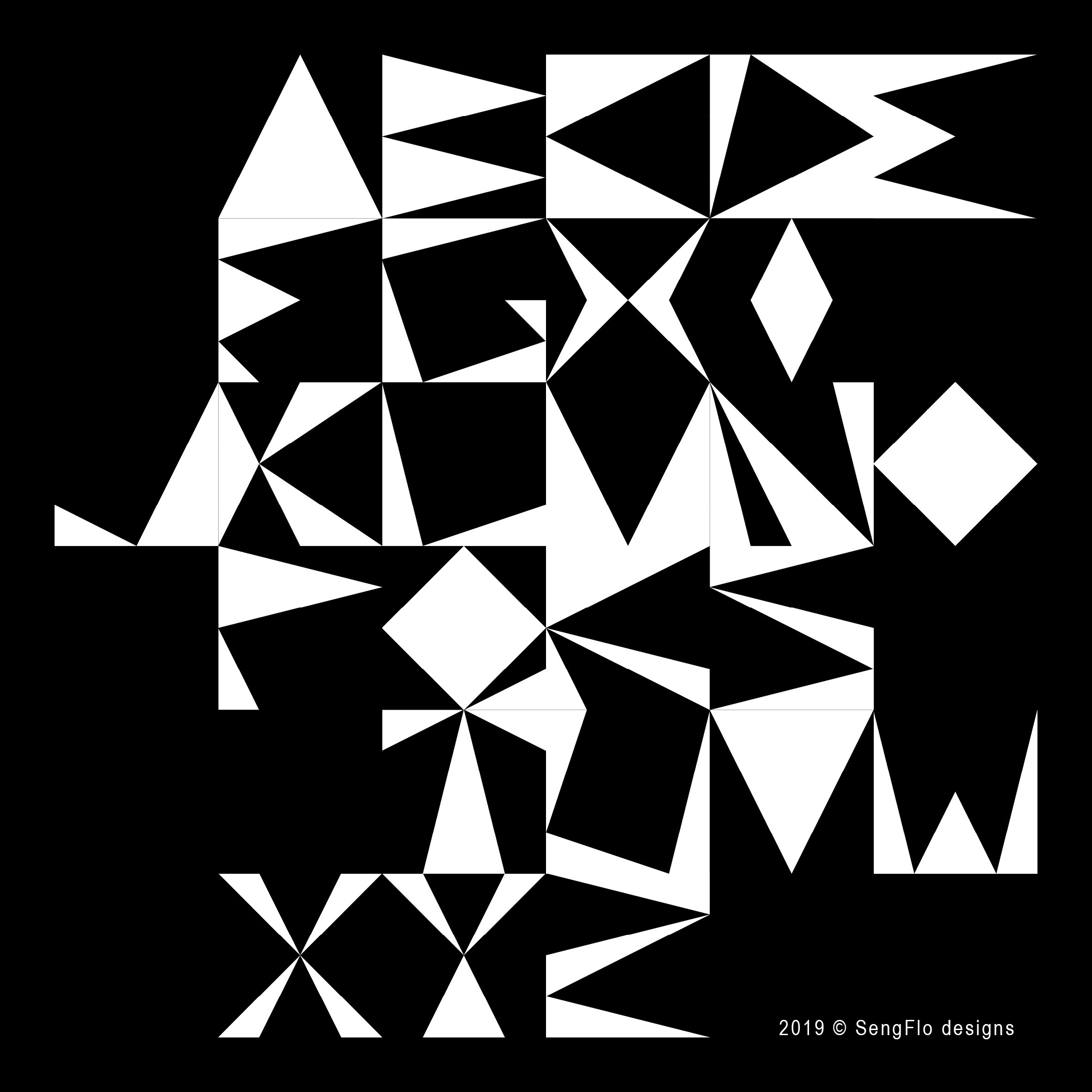 SFd_Alphabet Typo Triangles_alphabet_inv
