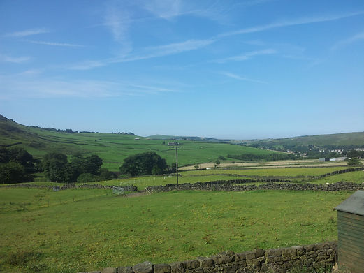 View From Diggle House Farm