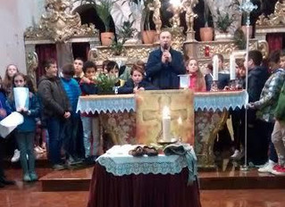 Via Crucis con i bambini della IV elementare