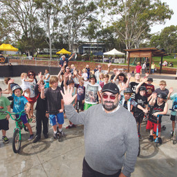 SKATE PARK OPENING SHOWS OFF MULTI-PURPOSE POSSIBILITIES!