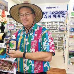 DAVID GEARING UP FOR BUSY SUMMER SEASON AT POINT LOOKOUT PHARMACY