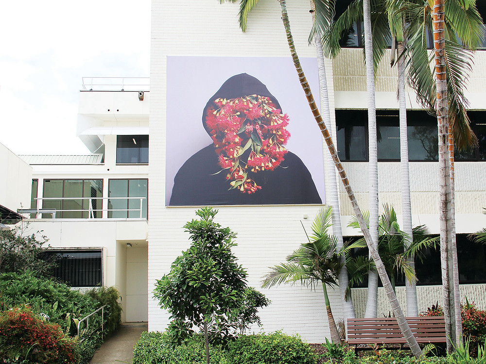 Christian's artwork on display