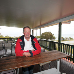 CLUB MACLEAY DECK GETS PROTECTED ROOF