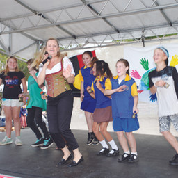 Mayor Karen Wows Big Crowds