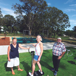 MACLEAY FITNESS PARK NOW READY FOR USE