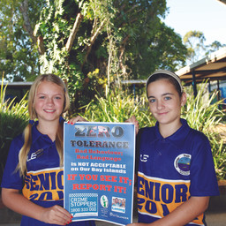 Macleay Island State School Supports Zero Tolerance