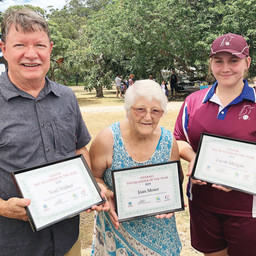YOUTH AND EXPERIENCE HONOURED AT ISLAND AUSTRALIA DAY AWARDS