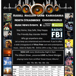 LIVE RADIO every WEDNESDAY from RadioFBI