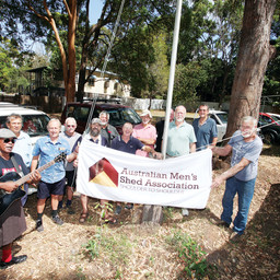 RENEGADES MEN'S SHED FLAG RAISING AND OPENING