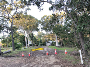 BEELONG STREET TO REMAIN CUT OFF UNTIL SEALED