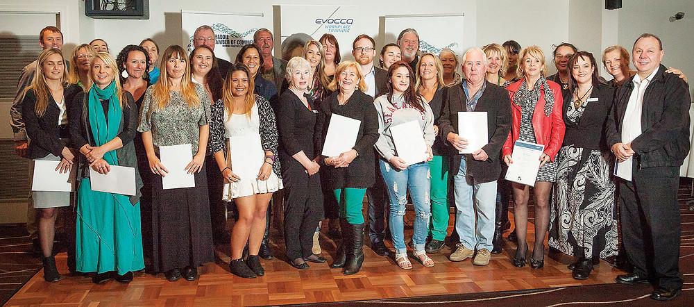 EC-0204-RGB  Straddie Chamber of Commerce Evocca Training Certificate Presentati