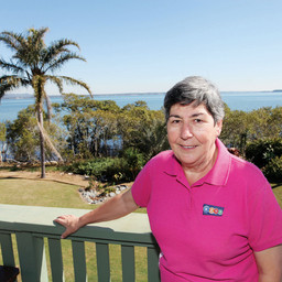 CONCHITA IS REDLAND CITY DIVISION 5 BAY ISLAND 'INSPIRING SENIOR'