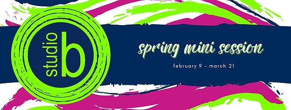 2021 Spring Mini Session - FB Cover & We