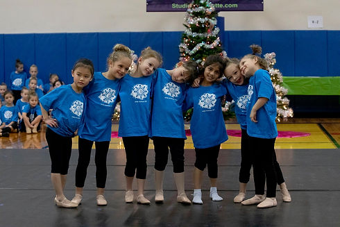 dancers performing at the Winter Showcase