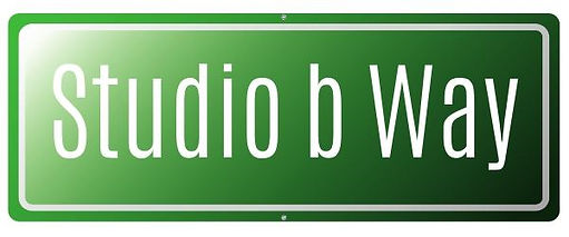 Studio b Way sign.jpg