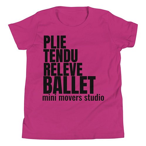 """""""Ballet"""" Youth Tee"""