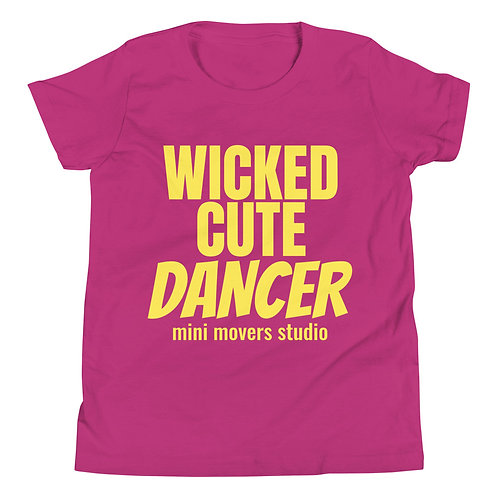 """Wicked Cute Dancer"" Youth Tee"
