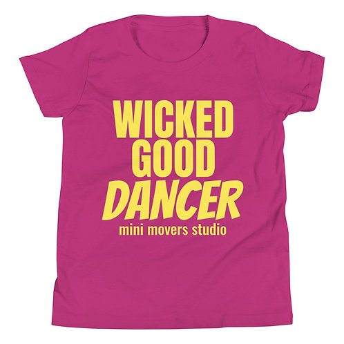 """""""Wicked Good Dancer"""" Youth Tee"""