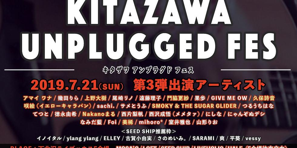 KITAZAWA UNPLUGGED FES