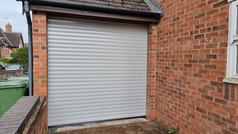 Trojon roller door in agate grey