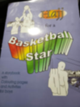Hajj for a Basketball Star children's activity book