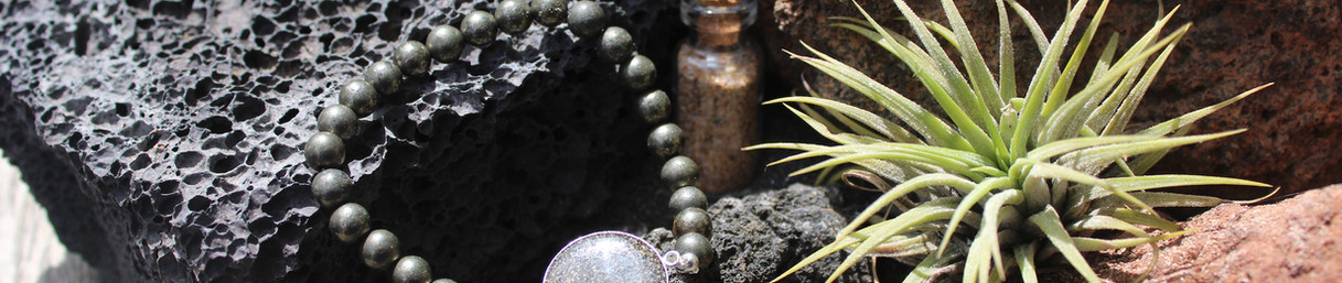 bracelet pierre bronze