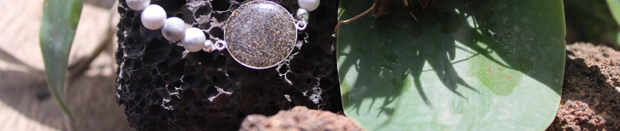 bracelet pierre blanche