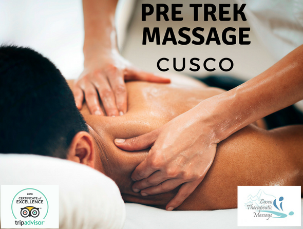 Pre trek massage in cusco