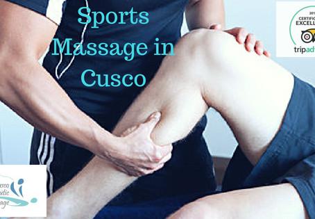 Sports massage in Cusco