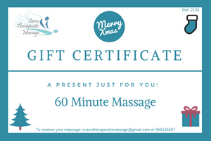 Gift certificate for Christmas