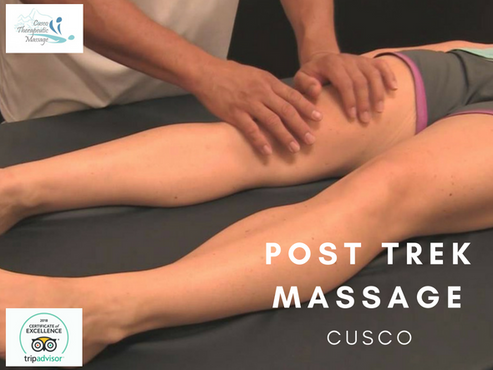Post trek massage