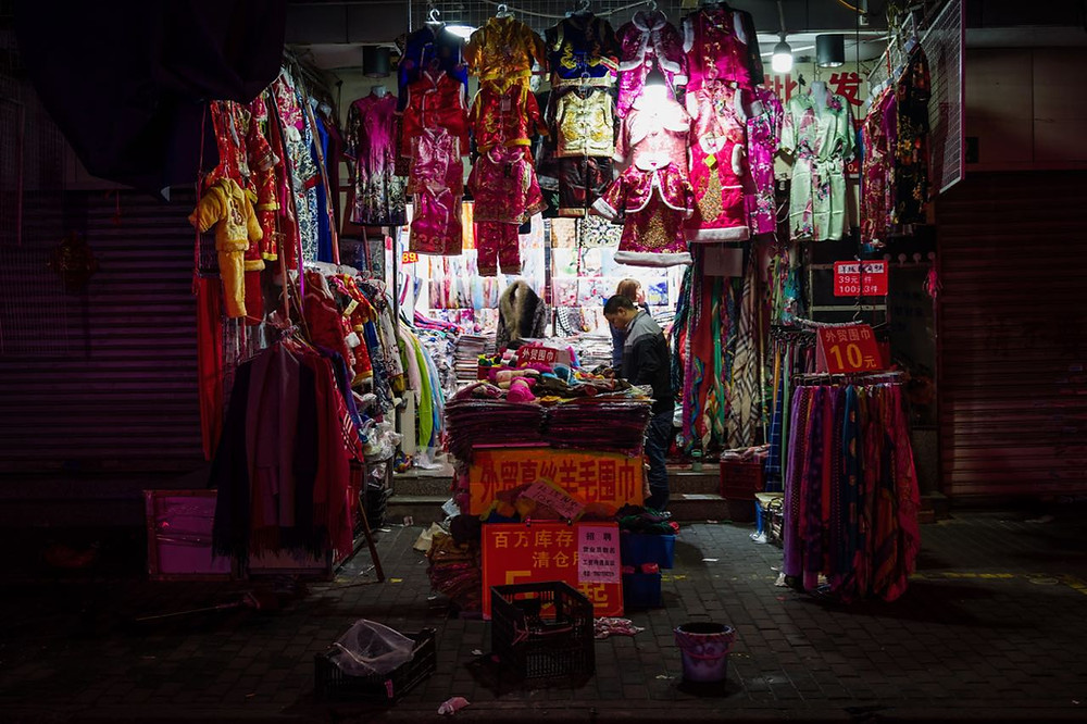 Chinese new year clothing vendor