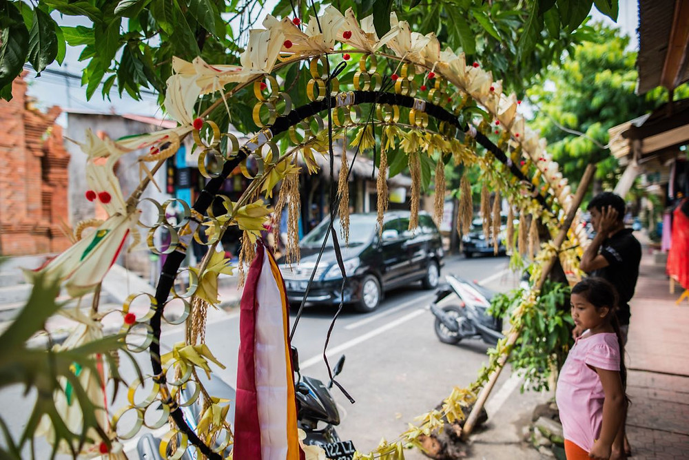 Indonesian new year decorations