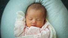My baby daughter Leah